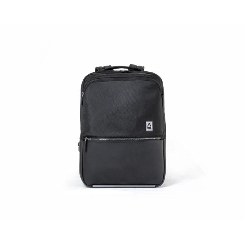 意大利品牌 APPERCASE ALU PACK START 背囊 - 顏色: Black ( 黑色 ) - 02-40-01-0047 ( 優惠期內送 10000MAH 外置充電器、 「ENSURE GUARD」 20ML 納米塗層 , 送完即止 )